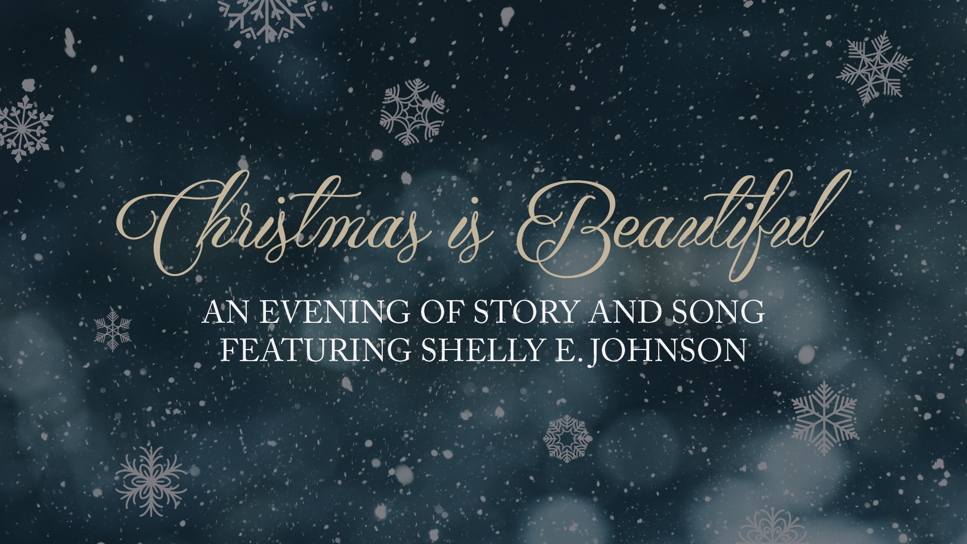 Christmas is Beautiful: An Evening of Story and Song